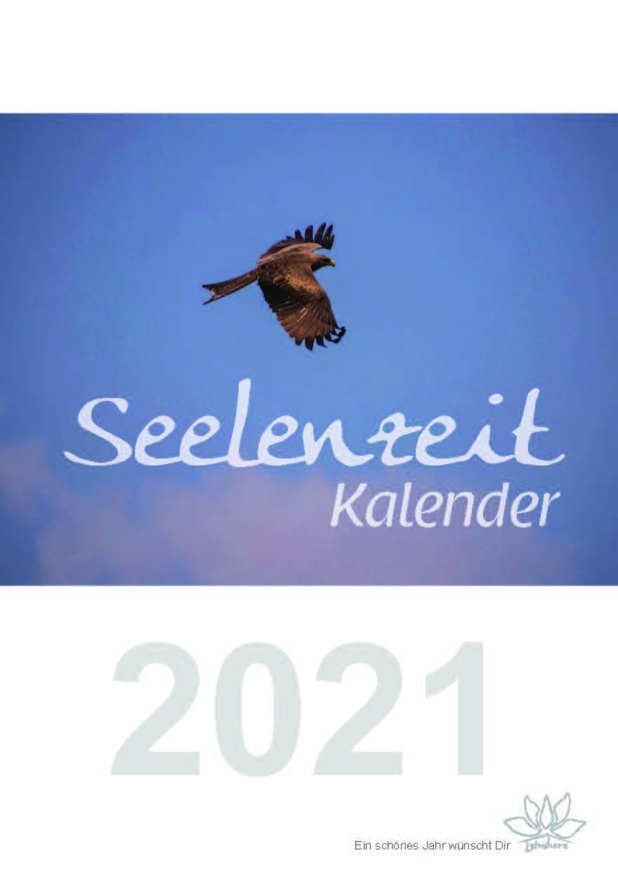 Seelenzeit-Kalender 2021 Cover