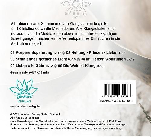 Seelenschwingungen CD Backcover
